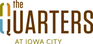 The Quarters Iowa City Logo